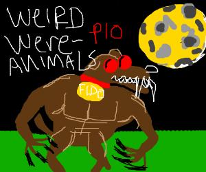 Weird were-animals pio