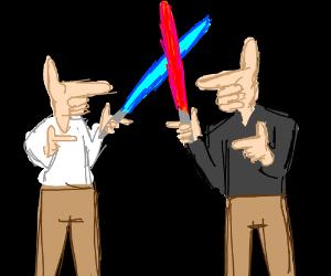 finger wars