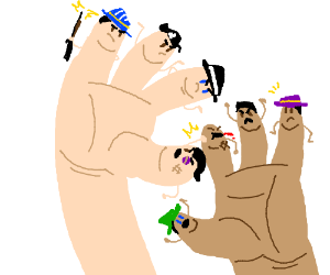 Mafia hands