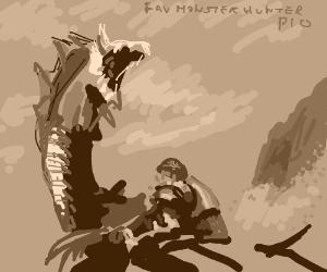 Fav Monster hunter PIO