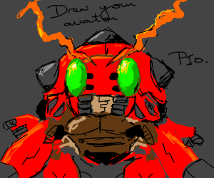 draw your avatar pio(pass it on)