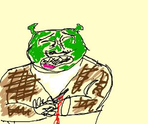 Depressed Shrek