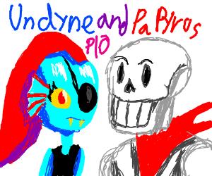 Papyrus and Undyne PIO
