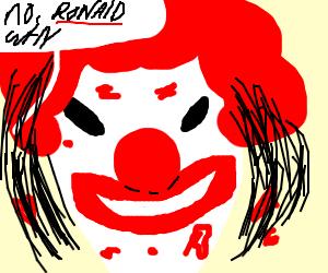 Ronald Mcdonald is a serial killer