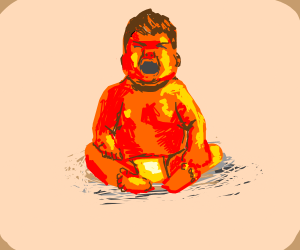Red Baby Crying