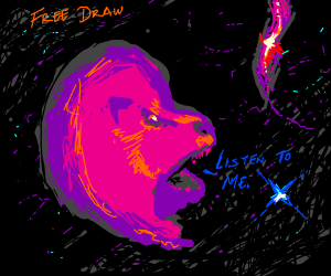 Free Draw, but listen to Space Lion