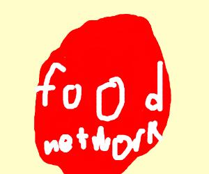 Food Network Logo Drawing By Tonama Khanum Drawception