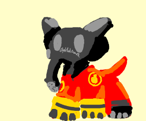 If the Pyro turned into an elephant