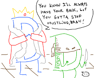 """""""D"""" King and """"D"""" thief are best friends"""