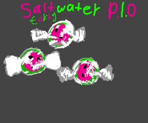Salt water taffy pass it on