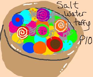 Saltwater taffy PIO