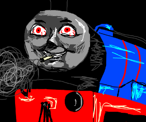 thomas  dank engine drawception