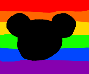 LGBT Mickey Mouse