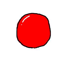 Clown nose emoji