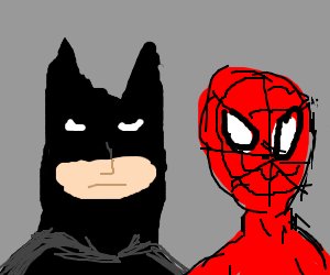 Baman and piderman