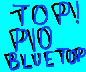 Top! PIO Blue Top
