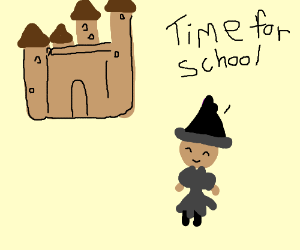 Witch (wizard woman not the word witch) school