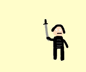 Samurai fool