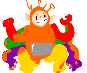 Fusion with Teletubbies