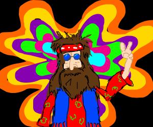Psychedelic Hippy LSD