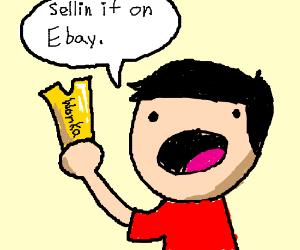 Finding a Wonka golden ticket