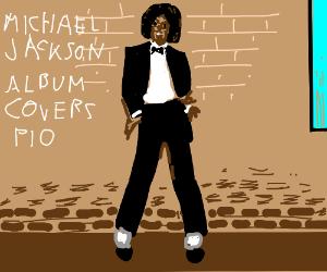 Michael Jackson album covers (PIO)