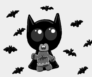 Cute/Derpy Batman