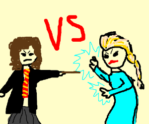 Elsa vs. Hermione