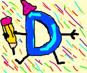 Happy Birthday Drawcrption