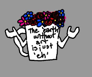 mug with inspirational quote