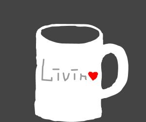 a living mug