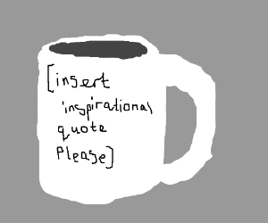 Insparational mug