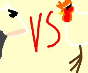 chicken vs. cow