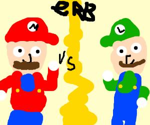 Hey, Luigi! Play the sax! - Drawception