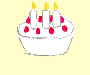 The Birthday Cake Emoji Drawing By Gada Drawception
