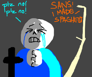Papyrus cooked spaghetti