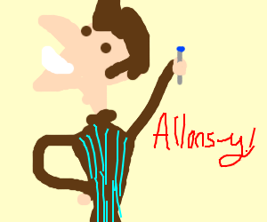 """David Tennant as the Doctor! """" Allons-y! """""""
