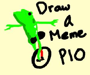 Draw a meme PIO