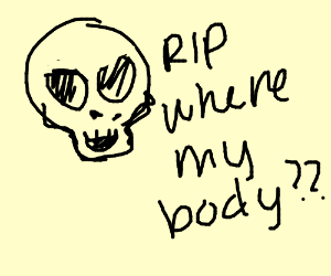 Skull asks where its body is