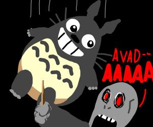 Voldemort VS Totoro