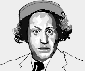 Larry from the three stooges