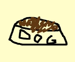 Dog food, no apples pls