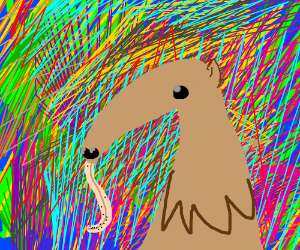 Abstract Anteater