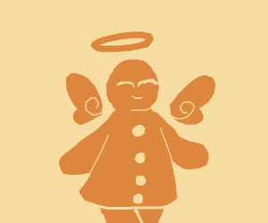 ginger bread angel