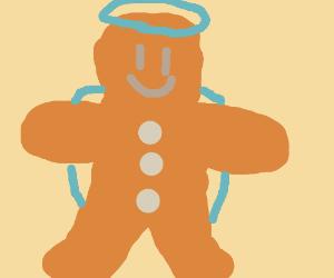 gingerbread cookie angel