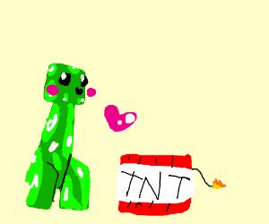 Creeper + TNT