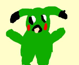 Green Pikachu