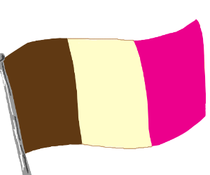 Neapolitan, but as a flag