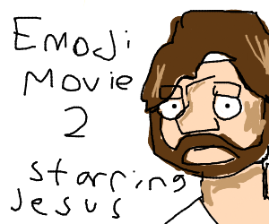 Emoji move 2 starring jessus crust