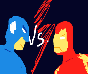 Captain America vs Iron Man (THAT IS AWESOME!)